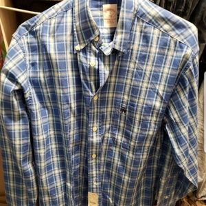 BNWT Brooks Brothers 346 button down shirt sz S